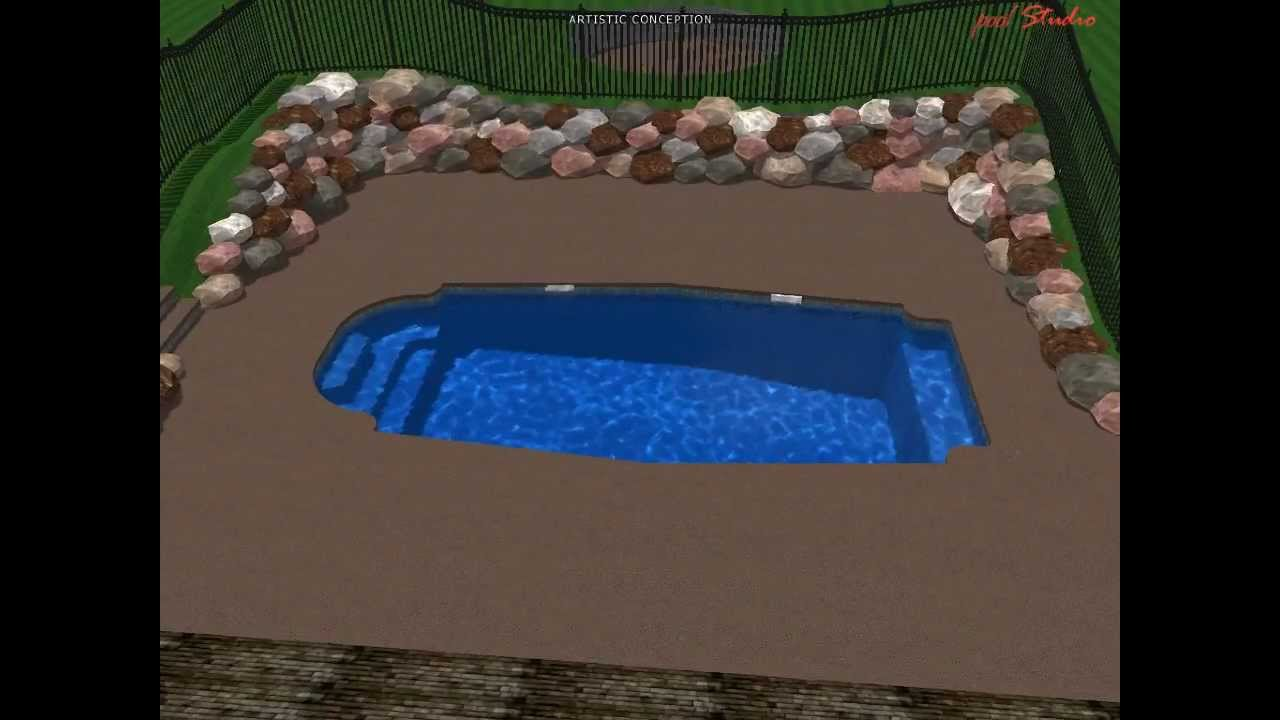 Fiberglass Pool Shell For Sale Inground Pool Project Youtube