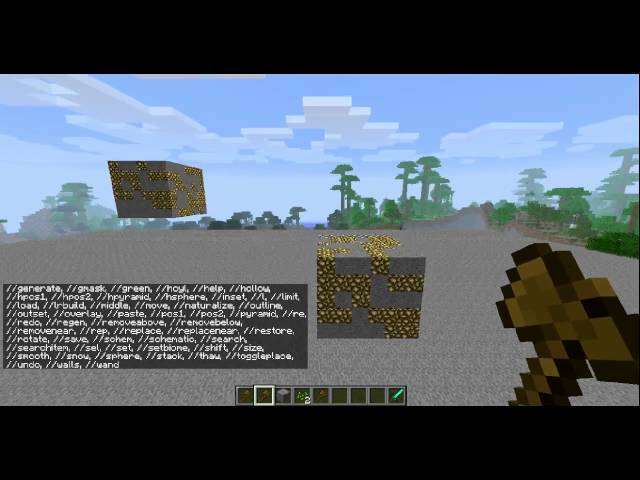 [CZ HD] tutorial - worldedit 1.Díl