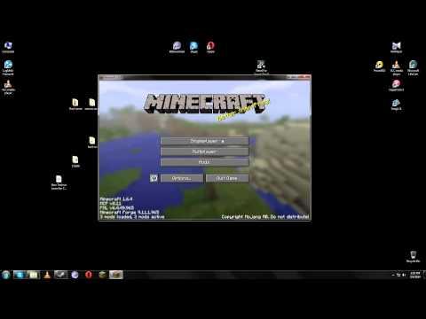 Cum bagi moduri pe minecraft 1.6.4
