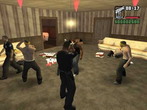 GTA San Andreas Tenpenny Stories (Mission 3) Cleaning the hood