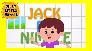 Jack be Nimble | Cartoon Kids English Nursery Rhymes | HD Animated Songs For Children