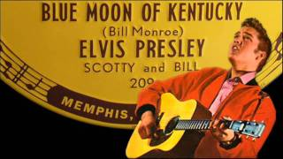 Watch Elvis Presley Blue Moon Of Kentucky video