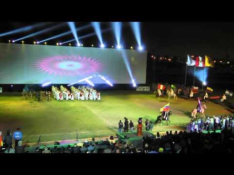 PERÚ Inauguración Juegos Bolivarianos de Playa Lima 2012