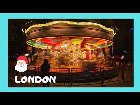 The festive Southbank Christmas market (London, 2013)