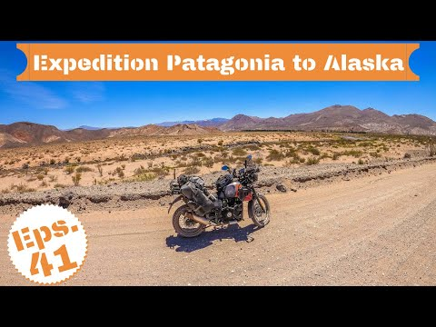 [S2 - Eps. 41] My motorcycle and me are boiling in the desert in Argentina