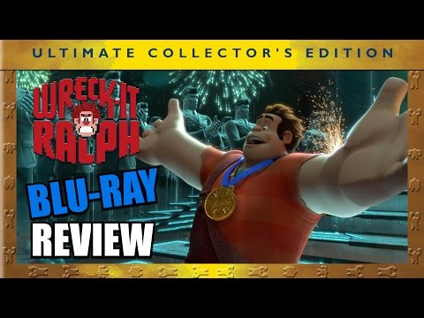 Wreck It Ralph 3D Blu-ray Review - Aficionados Chris