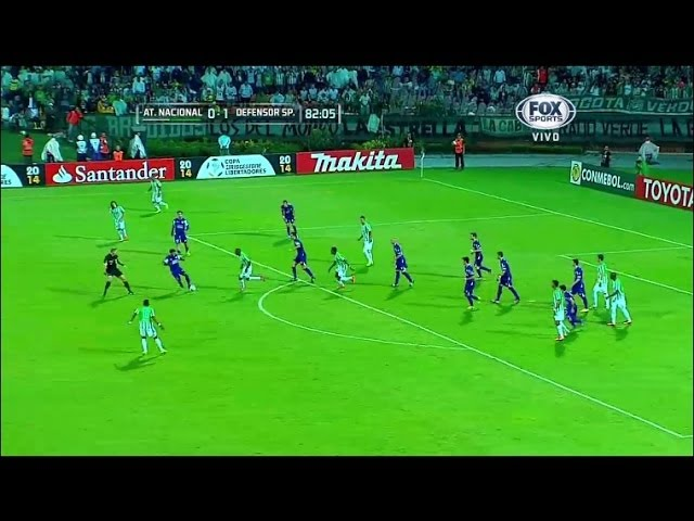 Atlético Nacional 0 - 2 Defensor Sporting Copa Libertadores 2014