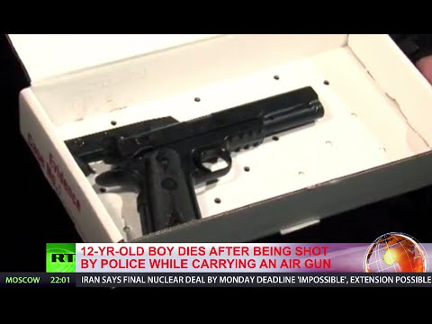 12yo boy dies after being shot by police while carrying BB gun