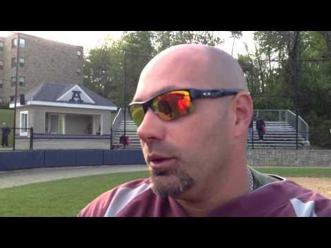 Worcester Academy coach Dana Forsberg