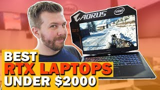 Best RTX 2070 Laptops Under $2000! Best Performance for the $$$!