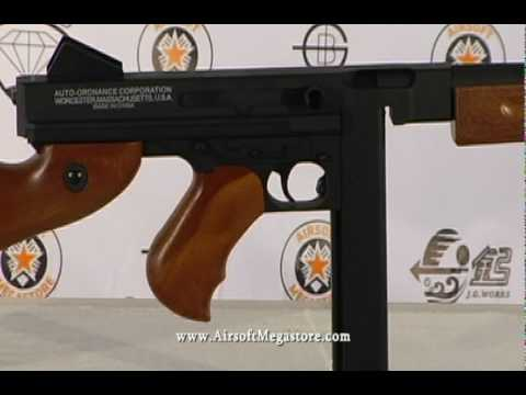 Airsoft Megastore - Thompson M1A1 Full Metal AEG Rifle Review