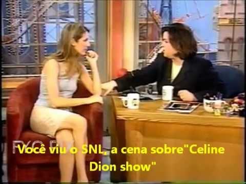 Celine Dion na Rosie O'Donnell falando sobre Titanic e Oscar + To Love You More LIVE legendado PTBR