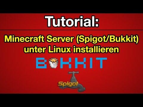 Tutorial: Minecraft Server erstellen (Bukkit/Spigot - auf Linux Root-/vServer) [Deutsch] [HD]