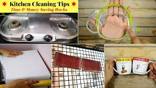 10 Useful Kitchen Cleaning TIPS / HACKS | Habits for Clean & Organized Kitchen | Urban Rasoi