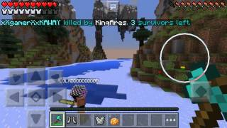 """AKTİFLİK""Minecraft Pe:Survival Games #24"