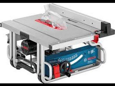 Review serra de bancada Bosch GTS 10J