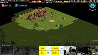 C4T1 - AoE 22 Random BiBi, Thầu vs Chim Sẻ, Chip Boy Ngày 26-9-2018