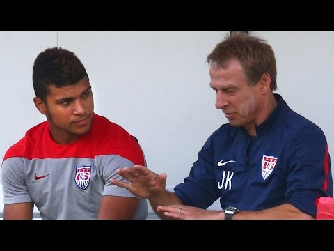 Interview: Jurgen Klinsmann on DeAndre Yedlin being suspended vs Ecuador