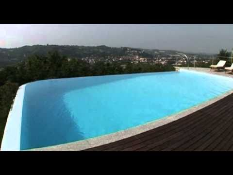Bluestyle® Technology - Infinity pool with waterfall