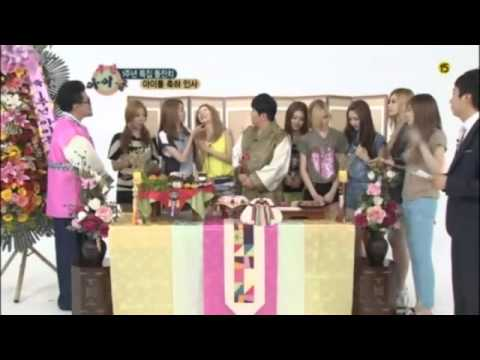 120718 After School - MBC Every1's Weekly Idol Part 2/4