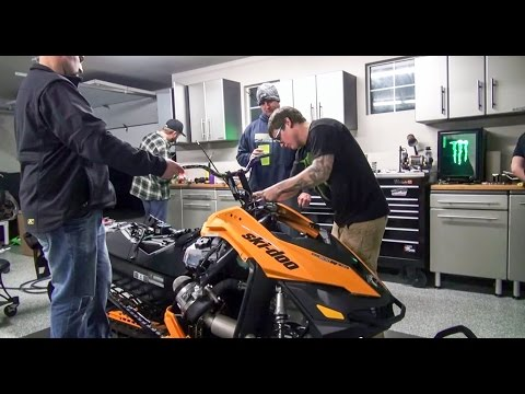 Heath Frisby's Ski-Doo Summit XM: Turbo Install