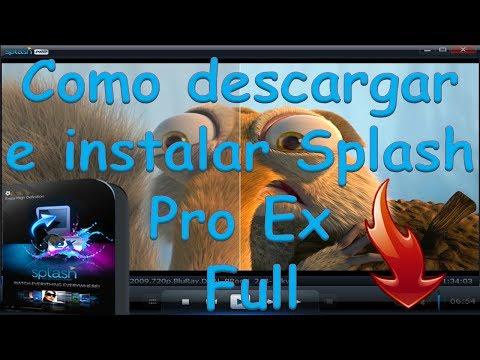 como descargar e instalar el reproductor del mundo splash pro ex en español y full (Febrero 2014).