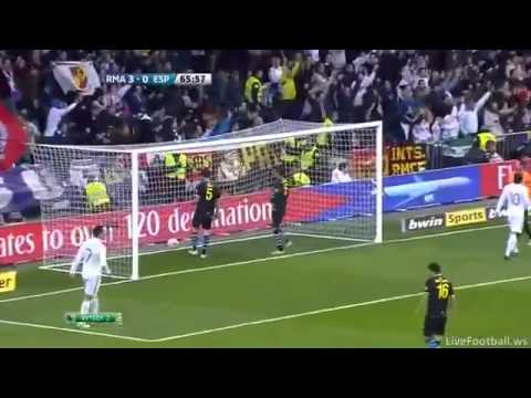 Real Madrid vs Espanyol (5-0) All Goals Full Highlights 04 03 2012