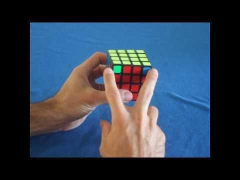 Como resolver o cubo mágico 4x4x4: Paridades (trocar apenas dois cantos)
