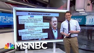 Blankenship Takes Center Stage In First Super Tuesday Primary | MTP Daily | MSNBC
