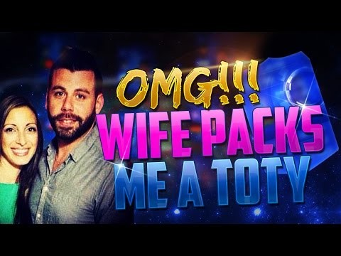 OMG MY WIFE PACKED A TOTY!!! FIFA 15 Ultimate Team