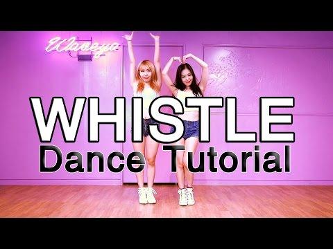 Dance Tutorial- BLACKPINK 휘파람(WHISTLE) WAVEYA