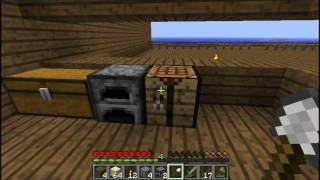 Lets Play Minecraft Harcore - Part 3 - Glass panes?