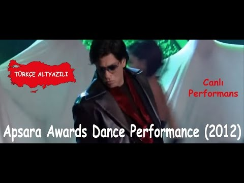 Shah Rukh Khan Dance Performance Apsara Awards 2012 Tr Altyaz L image
