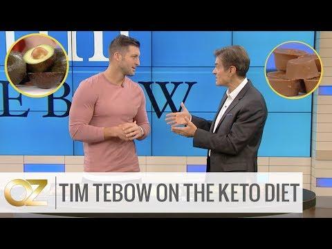 Tim Tebow Explains How The Keto Diet Breaks Down Fat