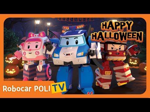 🧡 Happy Halloween | Robocar POLI | Childrern Song💜