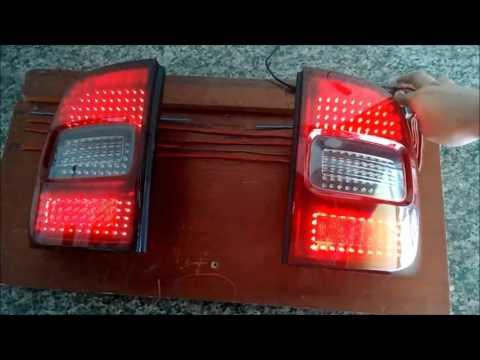 Lanterna Saveiro CROSS com LEDS