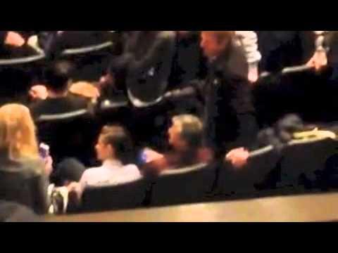 Kristen Stewart in Audience for CAMP XRAY