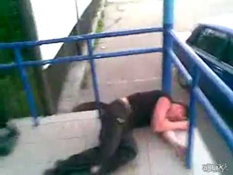 Thumbnail of video Big Guy gets knocked out