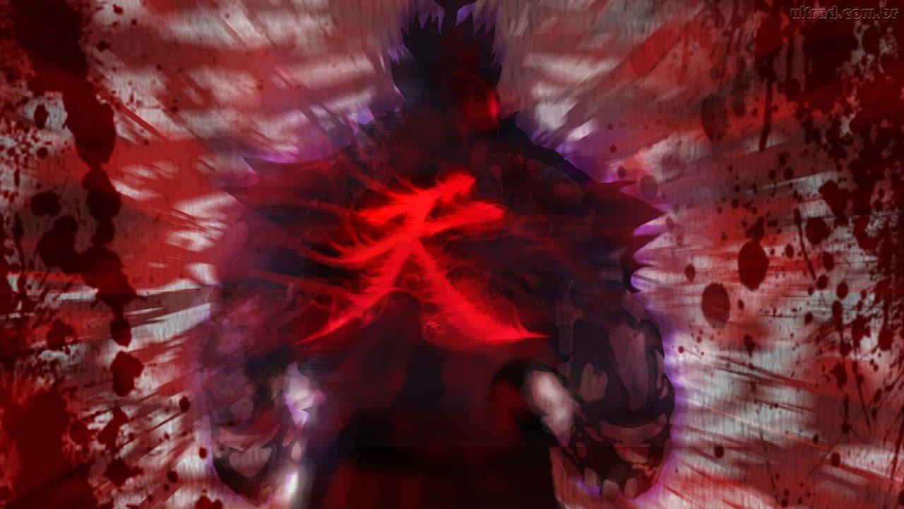Street fighter the power of the dark hadou evil ryu - Akuma oni wallpaper ...
