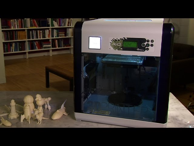 The XYZPrinting da Vinci 1.0 AiO 3D printer is an affordable approach to 3D printing