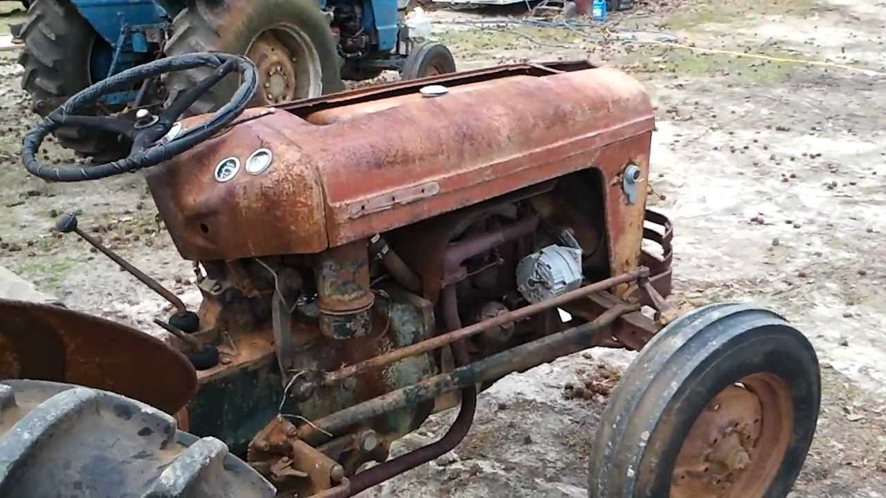 Massey Ferguson 35 Gas Tractor : Sold massey ferguson gas rebuilt engine new clutch