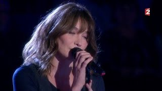 "Carla Bruni interprète en live ""The winner takes it all"" #ONPC"