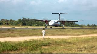 Wings Air PK-WID landing at Domine Eduard Osok Airport in Sorong