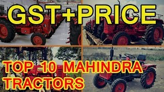 Top 10 Mahindra Tractors in India & Price List 2019