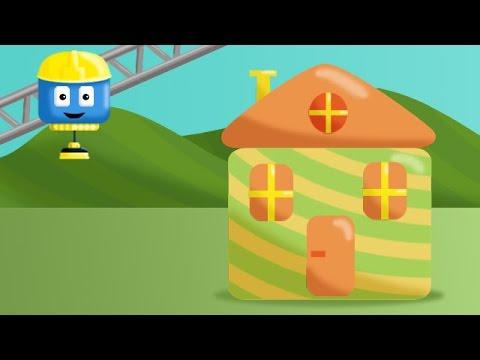 Том и Мэтт, грузовички - строители | Дом | Мультфильмы о машинках для детей