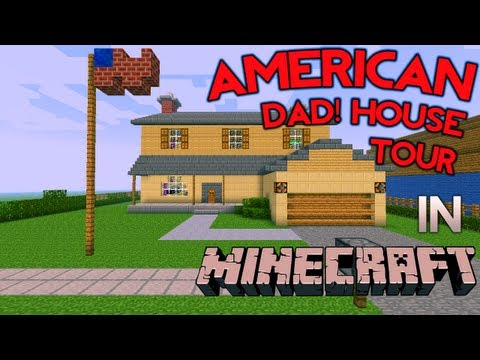 Minecraft: American Dad House Tour
