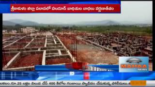 విచ్చల విడిగా ఇసుక దందా | Sand Mafia care of Address Srikakulam