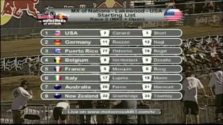 Motocross of Nations 2010 - Best Moments