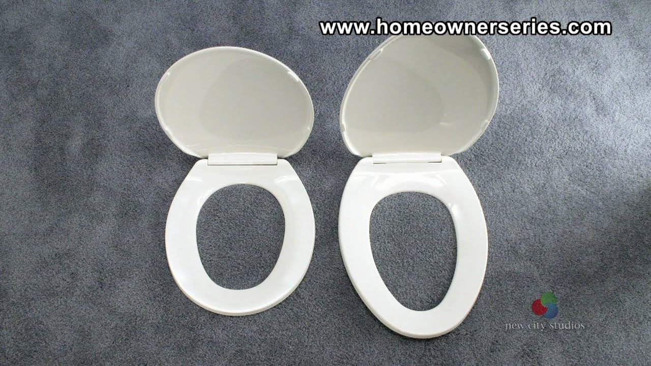 How To Fix A Toilet Toilet Seat Replacement Youtube