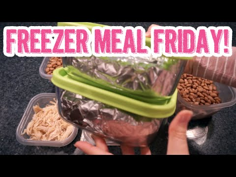 Easy Cheese & Chicken Enchiladas w/ Green Chile Sauce | Freezer Meal Friday
